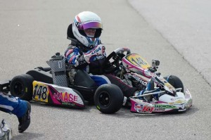 Joseph Lambert adds another victory to his karting resume (Photo: Brandy Lamberth)