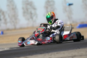 Cory Milne scored the S1 Pro pole position and main event fast lap on his Aluminos chassis (Photo: dromophotos.com)