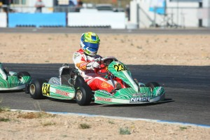 Round 2 Junior Max winner Christian Brooks lead the standings going into this weekend (Photo: SeanBuur.com)