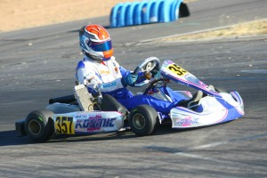 Phillip Arscott leads the Senior standings by one point (Photo: SeanBuur.com)