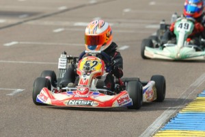 The win total is up to four now for Micro Max driver Jak Crawford (Photo: SeanBuur.com)