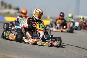 Veteran Darren Elliott made his ProKart Challenge debut, scoring the win in S4 (Photo: dromophotos.com)