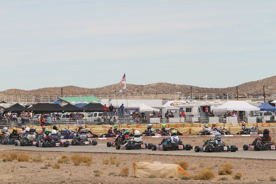Full fields are expected once again at Willow Springs for the second stop of the California ProKart Challenge (Photo: dromophotos.com)