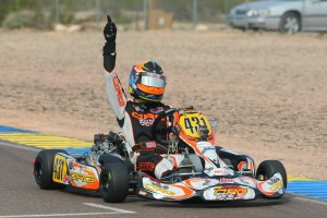 Sabre Cook drove to her first Rotax Challenge of the Americas victory in DD2 (Photo: SeanBuur.com)