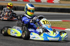 Luis Jose Forteza narrowly earned the pole position in Junior Max for both days (Photo: Studio52.us)