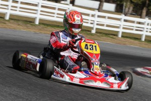 Birel driver Paolo De Conto was top qualifier in DD2 for round three (Photo: Studio52.us)