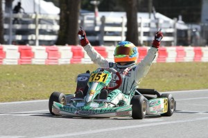 Michael d'Orlando earned his first Mini Max victory this year (Photo: Studio52.us)
