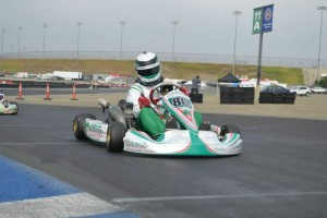 Erik Jakcson doubled up in the win column, including S4 Master Stock Moto (Photo: LAKC.org)