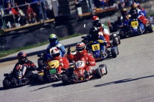 One of the biggest wins in Howden's karting career came at the 1997 WRKC Oktoberfest Grand Prix