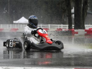 Saturday's Formula Kart TaG Masters champion Miguel Gransaull. (Photo: Ken Johnson - Studio 52.us)