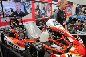 Briggs David Klaus at the PRI Trade Show, demonstrating the LO206 package (Photo: Joe Brittin)