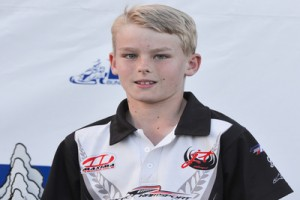 Loganholme youngster Harrison Hoey will be competiting in the KF3 class (Photo: AF Images/Budd)