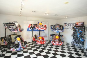 The full lines of Arrow and Birel karts are available at Full Throttle Karting in Orange, California (Photo: SeanBuur.com)