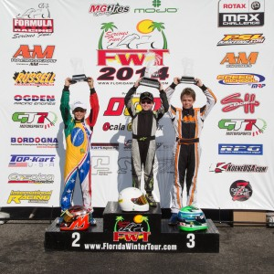 Micro Max championship podium (Photo: Studio52.us)