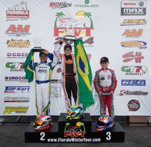 Mini Max championship podium (Photo: Studio52.us)