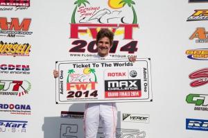 Junior Max champion Pedro Cardoso (Photo: Studio52.us)