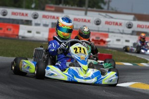 Luis Forteza won his first race in Junior Max (Photo: Studio52.us)