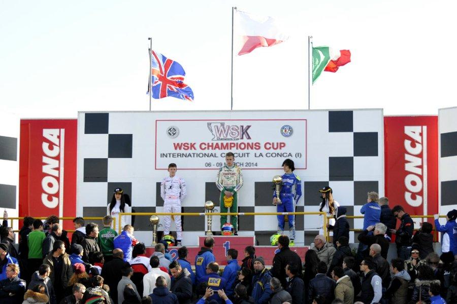 KF_Podium WSK Champions Cup