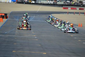 Large fields continue to fill the track in nearly all LAKC classes (Photo: LAKC.org)