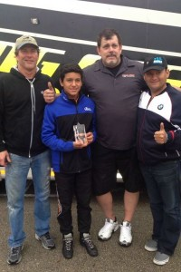 Leading Edge Motorsports guided Juan Gonzalez to a runner-up result in TaG Junior