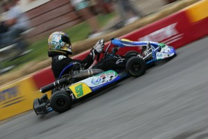 Bermuda driver Scott Barnes swept the action in Stock Honda Heavy on Saturday (Photo: Shofner Films)