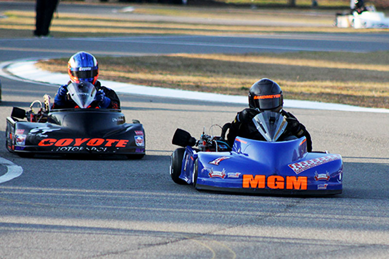 Tyler Sandmeyer (MGM) and Sean Meier will be two of the key players in senior competition this weekend at Jacksonville (KRAPP Photo)