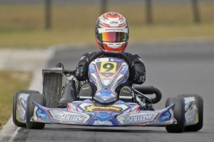 Back on top in Arai Rotax Junior was Christchurch driver Marcus Armstrong  (Photo: Fast Company/Graham Hughes)