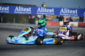 Leonardo Lorandi competing in KF Junior (Photo: Parma Karting)