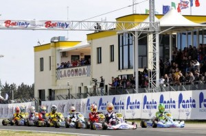 It was a good start for the WSK season at La Conca with the Champions Cup (Photo: Press.net Images)