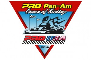 2014 PRD Pan-Am Crown of Karting logo