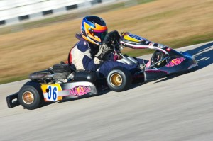 Austin McCusker won Daytona and never looked back on his way to the Komet Junior national championship (Photo: NCRM)