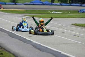 Brandon Lemke wins one of his 12 Man Cup finals on his way to the WKA Triple Crown championship (Photo: NCRM)