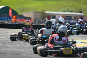 Nicholas Brueckner emerged as the quickest driver in the main event Sunday, piloting his #274 Birel at the Rotax Challenge of the Americas finale (Photo: SeanBuur.com)
