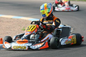 Veteran Alan Rudolph is in  position for his third straight Team USA ticket to the Rotax Grand Finals (SeanBuur.com)