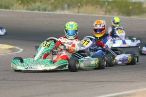 Christian Brooks and Austin Versteeg will go head-to-heat this weekend for the Junior Max crown (Photo: SeanBuur.com)