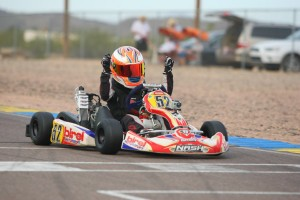 Jak Crawford looks to extend his Micro Max four race win streak (Photo: SeanBuur.com)