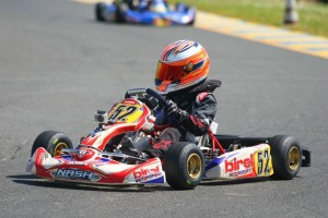 Jak Crawford drove to a dominant win Sunday afternoon in Micro Max competition (Photo: seanbuur.com)