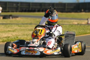 Sabré Cook earned her second Rotax Challenge of the Americas victory in DD2 (Photo: SeanBuur.com)