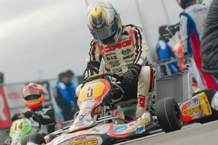 Davide Fore will compete in his first SKUSA SpringNationals in S1 (Photo: On Track Promotions - otp.ca)