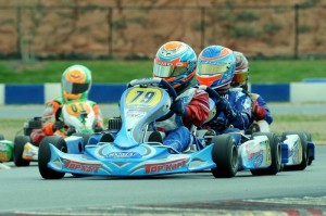 Top Kart has won 9 of the 10 Yamaha Junior feature races at the USPKS (Photo: DavidLeePhoto.com)