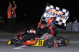 KZ2 winner Kyle Ensbey (Pic: AF Images/Budd)