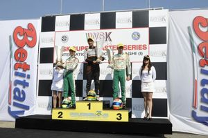 Jehan Daruvala stood atop the KF podium (Photo: press.net images)