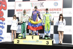 Mauricio Baiz was the victor in KFJ this weekend in Castelletto (Photo: press.net images)