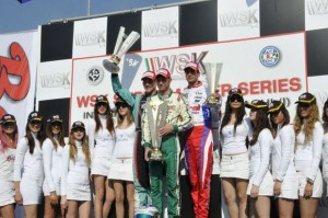 The KZ2 podium from Castelletto  (Photo: press.net images)