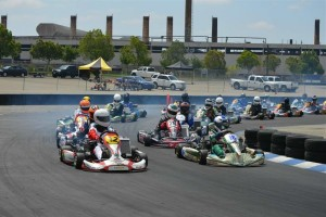 The Los Angeles Karting Championship continues to host large fields, showcasing great racing (Photo: LAKC.org)