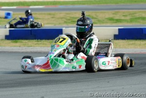 After missing qualifying, Anthony Gangi Jr. fought forward all day to the Leopard Junior win (Photo: DavidLeePhoto.com)