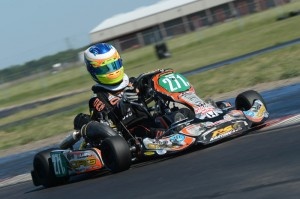 Luis Forteza of Puerto Rico racked up two top-five results in the S5 junior shifter category (Photo: On Track Promotions - otp.ca)