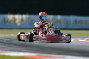 Devlin DeFrancesco and his Morsicani Racing Tony Kart impress in Europe (Photo KSP.fr)