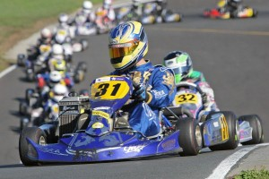 Daniel Kinsman in Logitech 125cc Rotax Max Light (Photo: Fast Company/Graham Hughes)