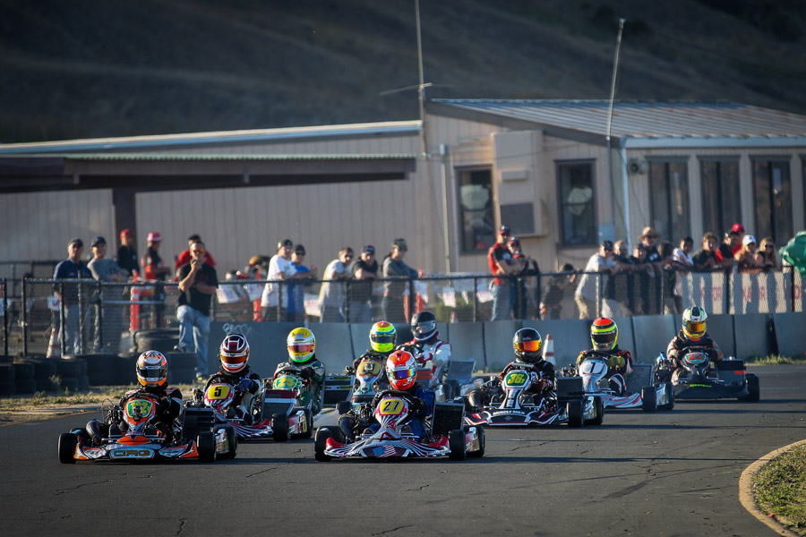The California ProKart Challenge takes Superkarts! USA racing back to the Simraceway Performance Karting Center on June 6-7 (Photo: dromophotos.com)
